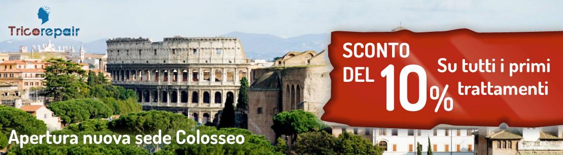 Sconto Tricopigmentazione nuova sede di Roma