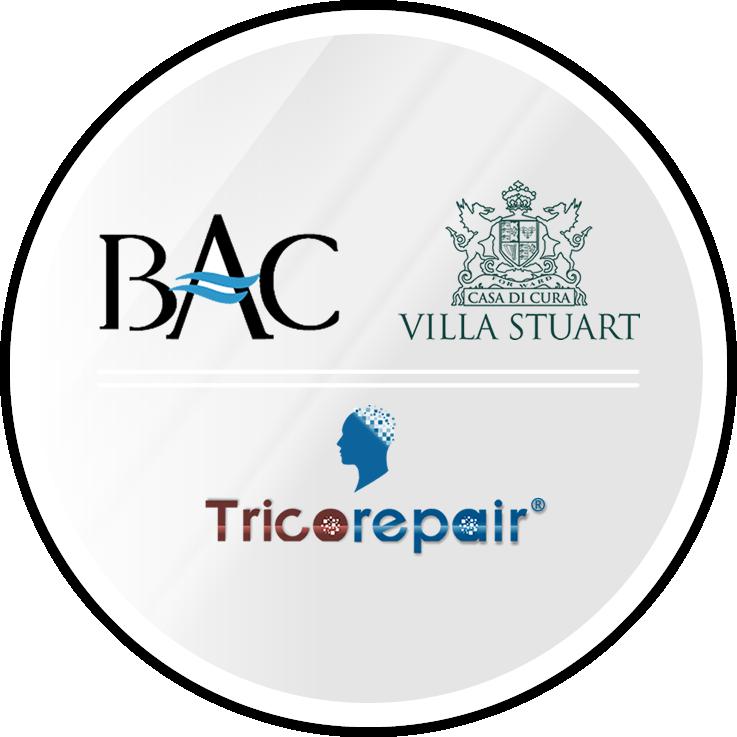 TricoRepair, partner ufficiale del centro BAC di Villa Stuart